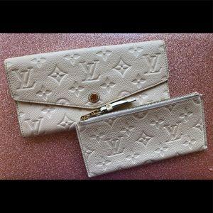 Louis Vuitton Empriente Curieuse wallet w/ insert